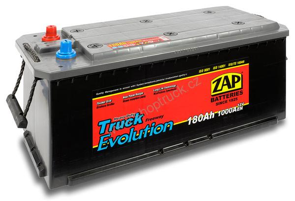 Autobaterie ZAP 12V/180Ah 1000A HD